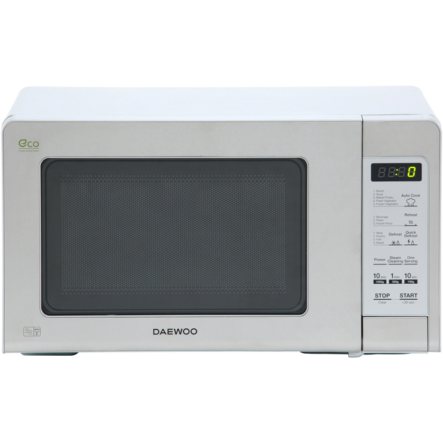 Daewoo KOR6M5RR 20 Litre Microwave - Stainless Steel