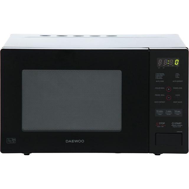Daewoo Microwaves KOR9GPBR Free Standing Microwave Oven in Black