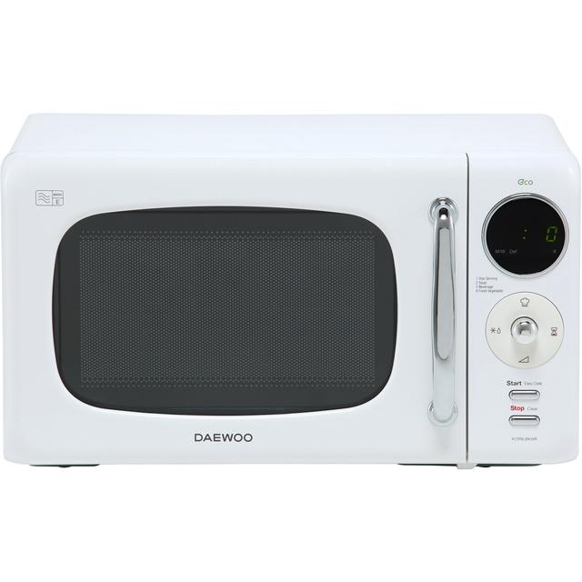 Daewoo Microwaves KOR9LBKWR Free Standing Microwave Oven in White