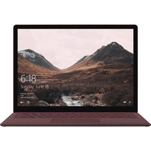"Microsoft Surface Laptop 13.5"" Laptop - Burgundy - DAJ-00043 - 1"