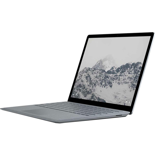 "Microsoft 13.5"" Laptop Intel® Core™ M processor 4GB RAM - Platinum"