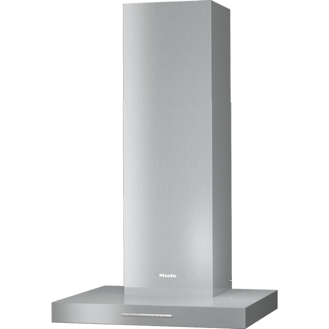 Miele DAPUR68W 60 cm Chimney Cooker Hood - Clean Steel - A Rated - DAPUR68W_CS - 1