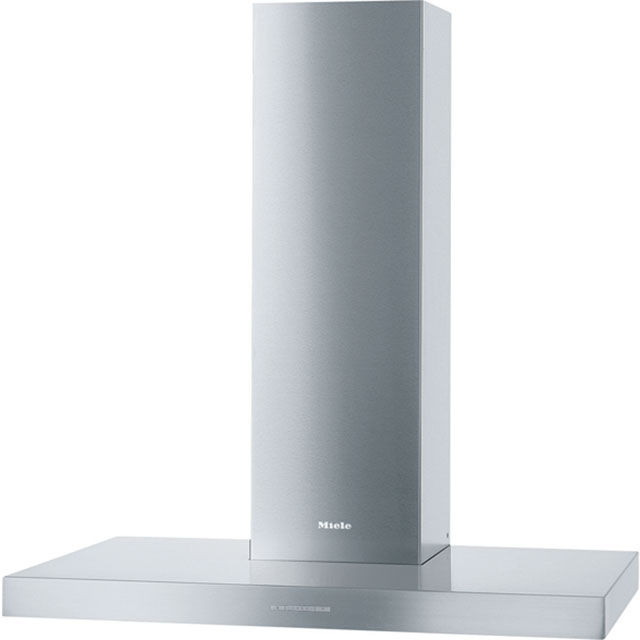 Miele DAPUR98W 90 cm Chimney Cooker Hood - Clean Steel - A Rated - DAPUR98W_CS - 1