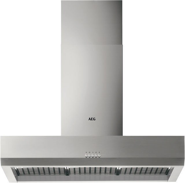 Image of AEG DBB2160M Integrated Cooker Hood in Stainless Steel