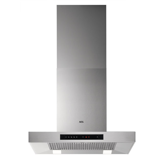 AEG DBB5660HM 60 cm Chimney Cooker Hood - Stainless Steel - A Rated
