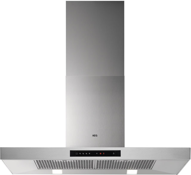 AEG DBB5960HM 90 cm Chimney Cooker Hood - Stainless Steel - A Rated