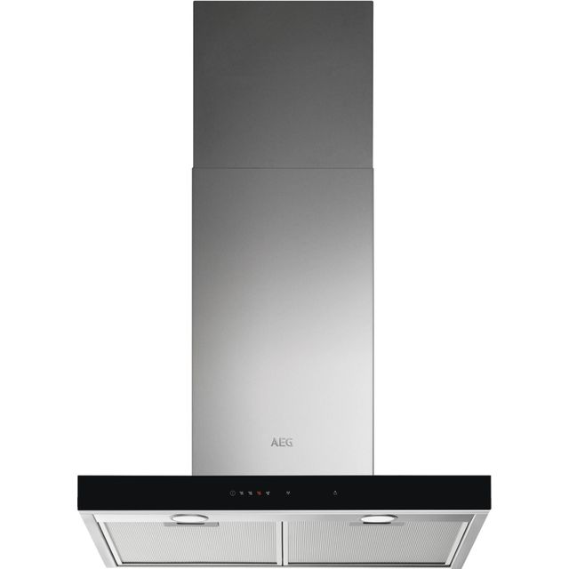 AEG DBE5661HG 60 cm cm Chimney Cooker Hood - Stainless Steel - A Rated