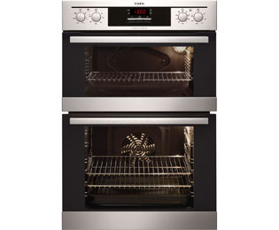 AEG Competence DC4013021M Built In Double Oven - Stainless Steel