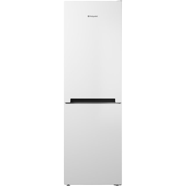 Hotpoint Day 1 DC85N1W 60/40 Frost Free Fridge Freezer - White - A+ Rated Best Price, Cheapest Prices