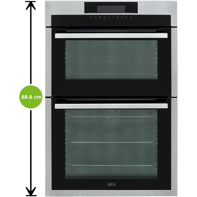 AEG DCE731110M Built In Double Oven - Stainless Steel - DCE731110M_SS - 2