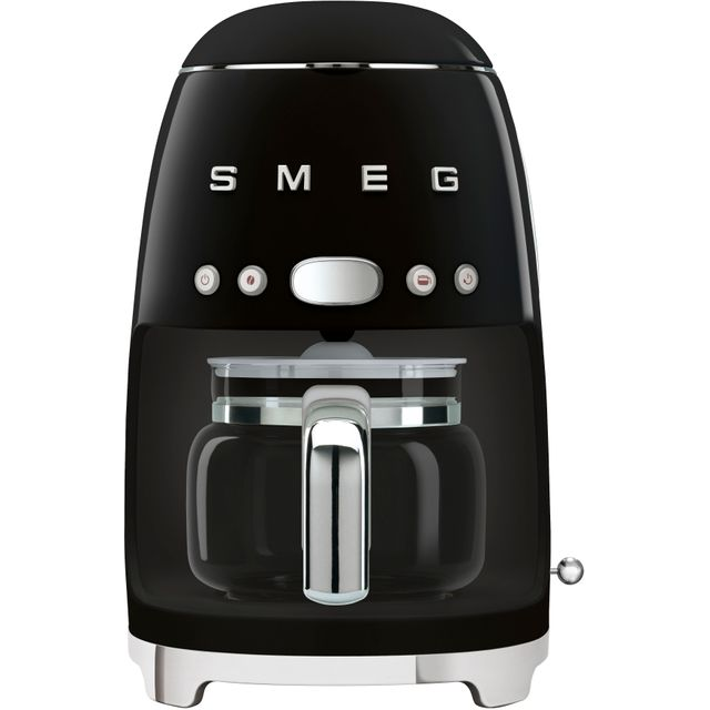 Smeg DCF02BLUK Filter Coffee Machine with Timer - Black