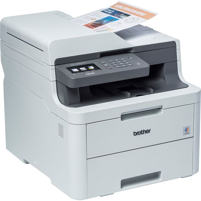 Brother DCP-L3550CDW 3-in-1 LED Printer - Grey