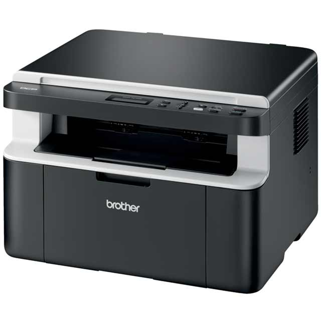Brother DCP-1612W Compact All-In-One Wireless Mono Laser Printer - Black - DCP1612WZU1 - 1