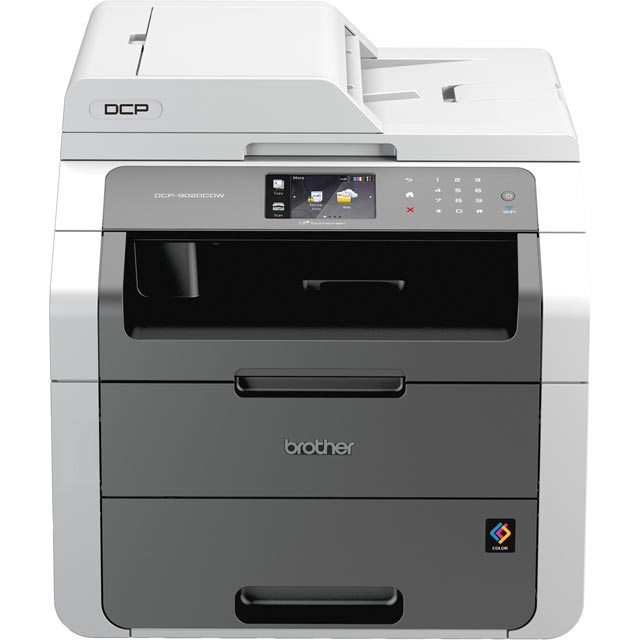 Brother DCP-9020CDW Wireless All-In-One Colour DCP9020CDWZU1 Printer in Grey