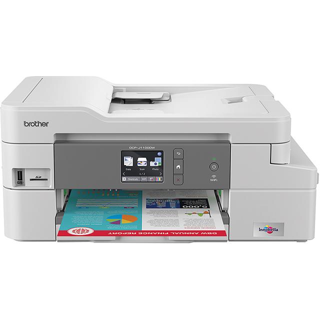 Brother DCPJ1100DW Printer in White