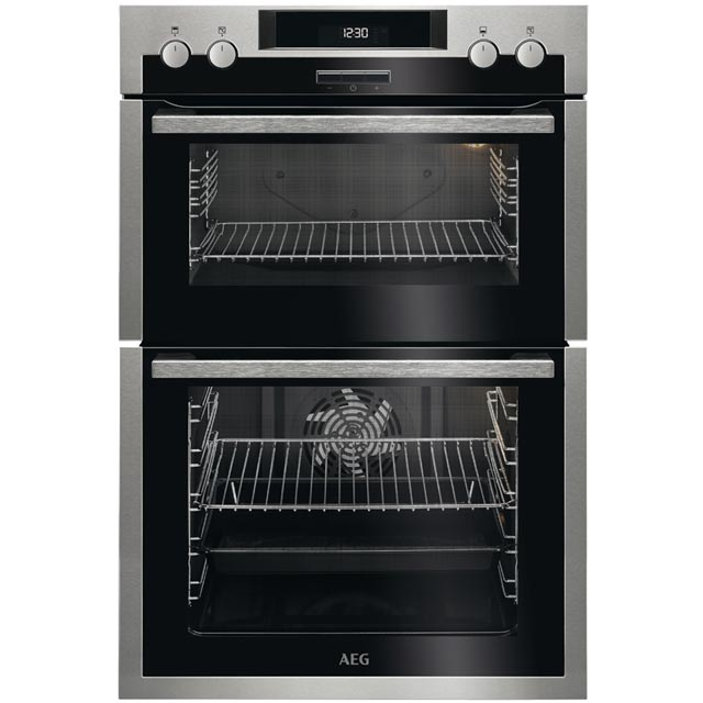 AEG DCS431110M Built In Double Oven - Stainless Steel - A/A Rated