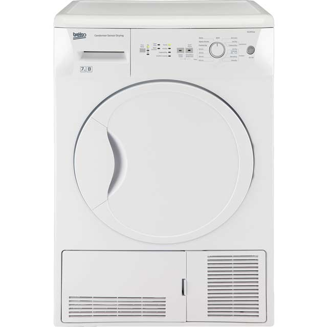beko dcur701w condenser tumble dryer white best price. Black Bedroom Furniture Sets. Home Design Ideas
