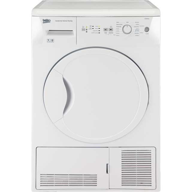 Beko DCUR701W Free Standing Condenser Tumble Dryer in White