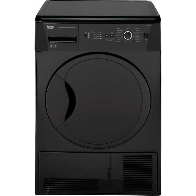 Lg Tumble Dryer Black ~ Beko dcur b free standing condenser tumble dryer in
