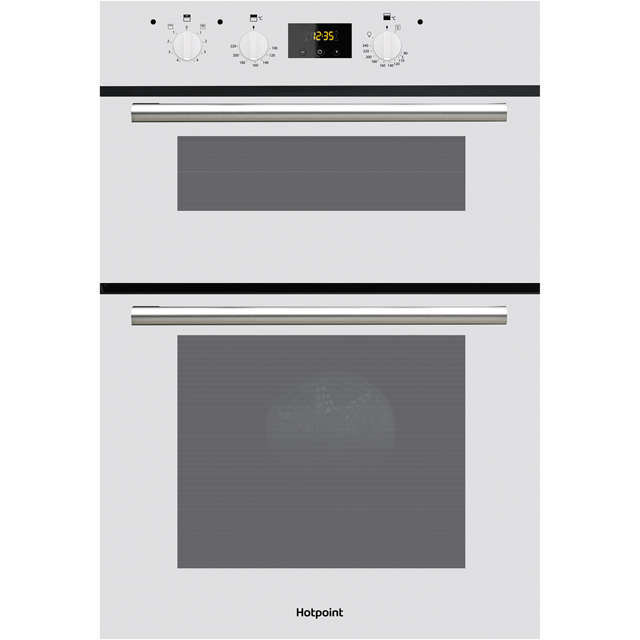 Hotpoint Class 2 Built In Double Oven - White - A/A Rated