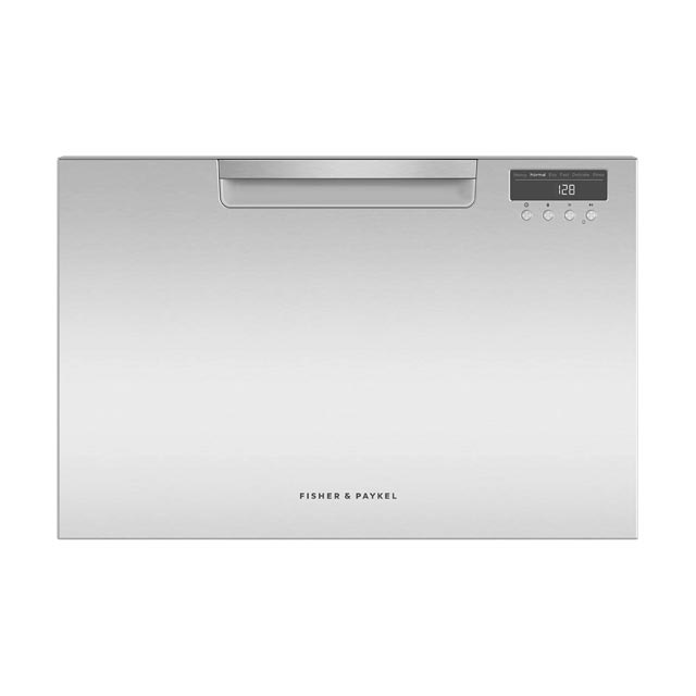 Fisher & Paykel DishDrawer™ DD60SAHX9 Semi Integrated Standard Dishwasher - Stainless Steel Control Panel with Fixed Door Fixing Kit - A++ Rated - DD60SAHX9_SS - 1