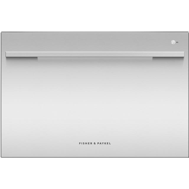 Fisher & Paykel DishDrawer™ DD60SDFHX9 Semi Integrated Standard Dishwasher - Stainless Steel Control Panel with Fixed Door Fixing Kit - A++ Rated - DD60SDFHX9_SS - 1