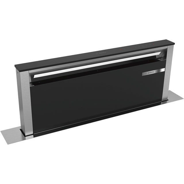 Bosch Serie 8 90 cm Downdraft Cooker Hood - Black - A Rated