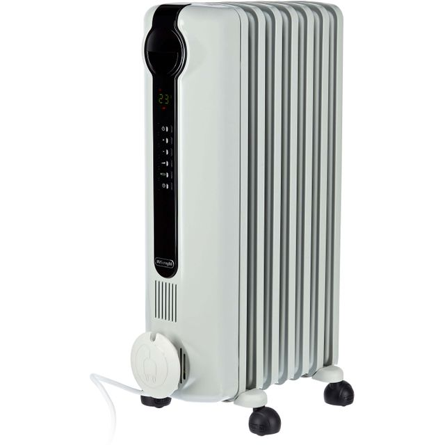 De'Longhi Dragon 4 TRRS0715E Oil Filled Radiator 1500W - White