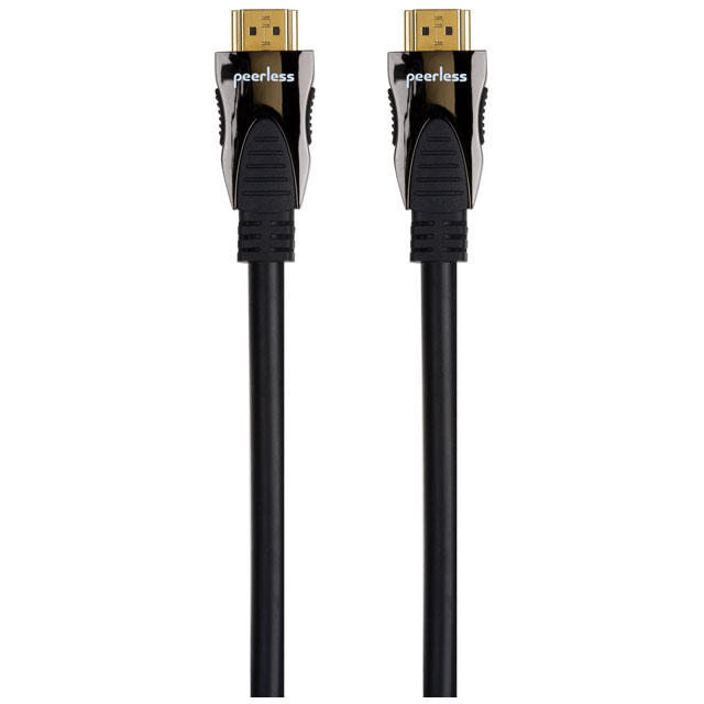Peerless DE-HD015 1.5m HDMI Cable - Black - DE-HD015 - 1