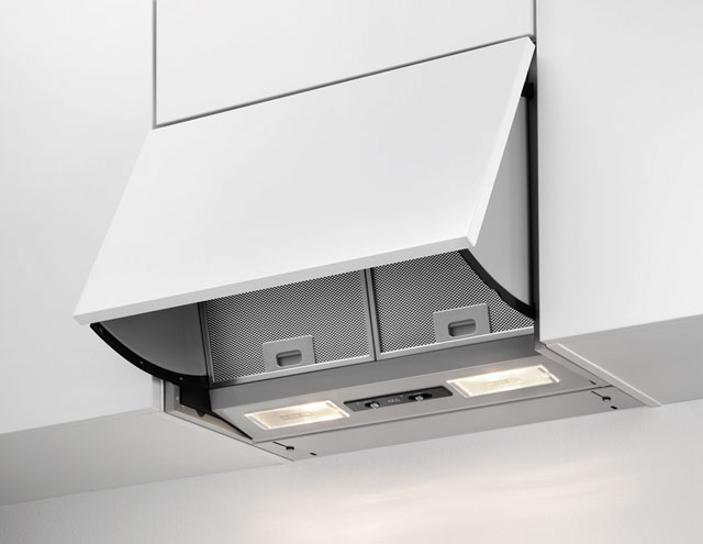 Image of AEG DEB2630S Integrated Cooker Hood in Grey