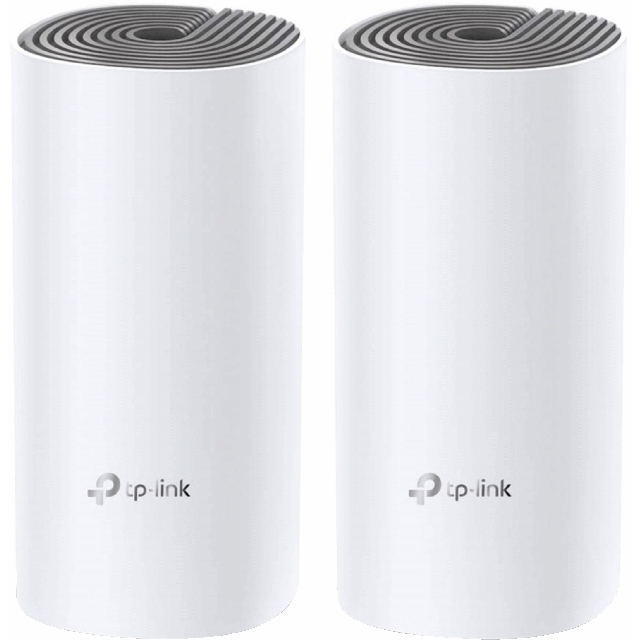 TP-Link Dual Band AC1200 Mesh Network Twin Pack - DECO E4(2-PACK) - 1