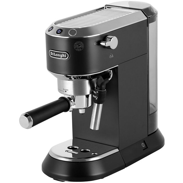 De'Longhi Dedica Traditional Pump EC685.BK Espresso Coffee Machine - Black - EC685.BK_BK - 1