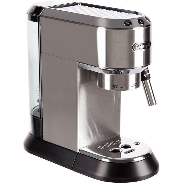 De'Longhi Dedica Traditional Pump Espresso Coffee Machine - Silver