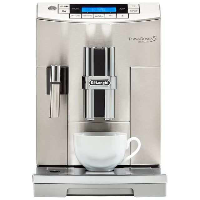De'Longhi PrimaDonna S ECAM28.465.M Bean to Cup Coffee Machine - Silver