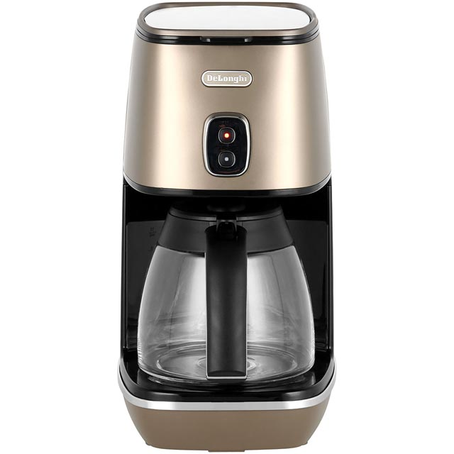 De'Longhi Distinta Filter Coffee Machine - Bronze