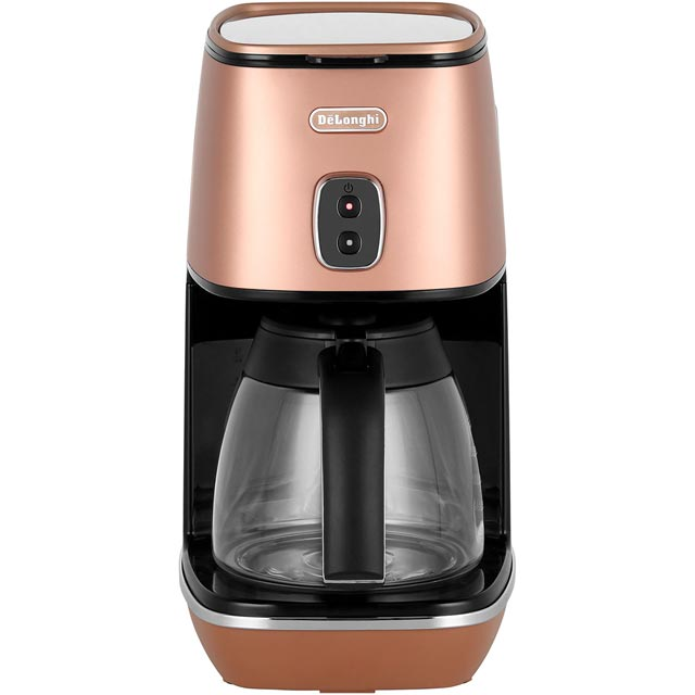 De'Longhi Distinta Filter Coffee Machine - Copper