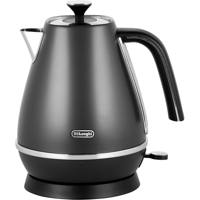 De'Longhi Distinta Kettle - Black