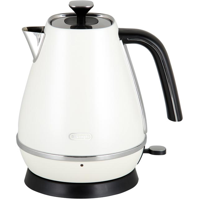 De'Longhi Distinta Kettle - White