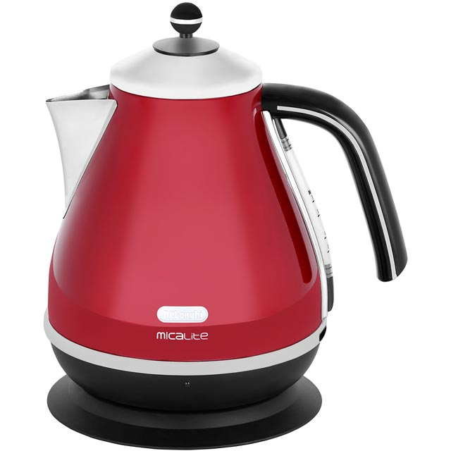 De'Longhi Icona Micalite KBOM3001.R Kettle - Red