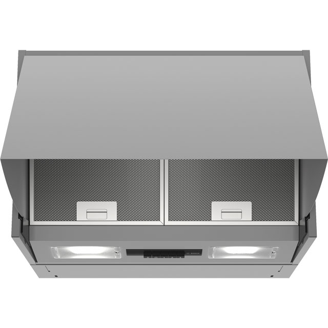 Bosch Serie 2 60 cm Integrated Cooker Hood - Silver - D Rated