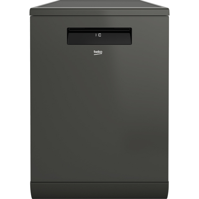 Beko DEN59420DG Wifi Connected Standard Dishwasher - Graphite - A++ Rated