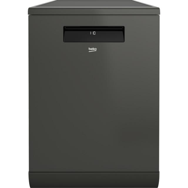 Beko Free Standing Dishwasher in Graphite