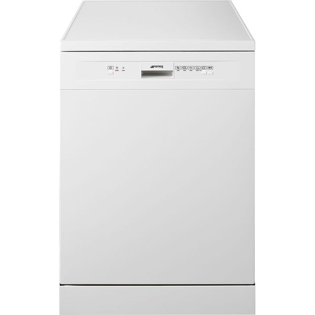 Smeg DF13E2WH Standard Dishwasher - White - A++ Rated - DF13E2WH_WH - 1