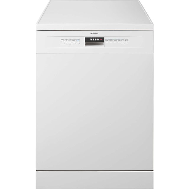 Smeg DF612AEW Standard Dishwasher - White Best Price, Cheapest Prices