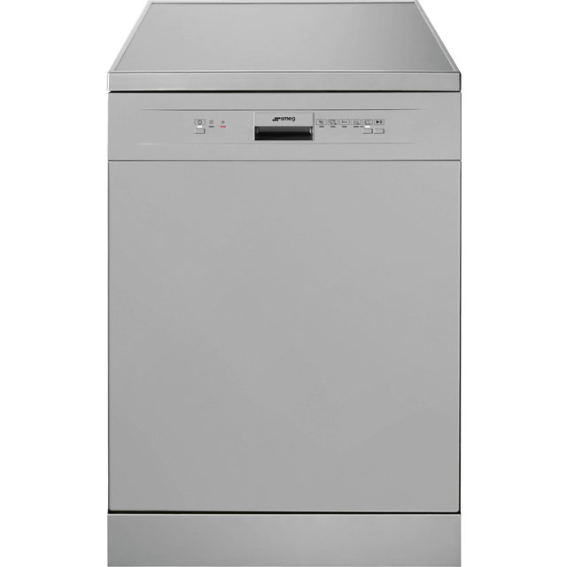 Smeg DF612SVE Standard Dishwasher - Silver Best Price, Cheapest Prices