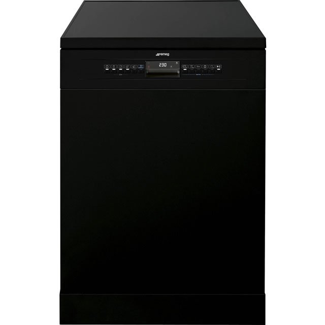 Smeg DF613PBL Standard Dishwasher - Black Best Price, Cheapest Prices