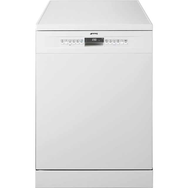 Smeg DF613PW Standard Dishwasher - White - A+ Rated - DF613PW_WH - 1