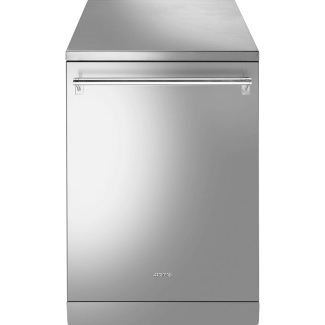 Smeg DF614APX Standard Dishwasher - Stainless Steel - A++ Rated - DF614APX_SS - 1