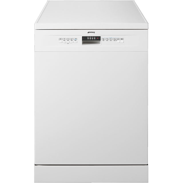 Smeg DFA12E1W Standard Dishwasher - White - A+ Rated - DFA12E1W_WH - 1