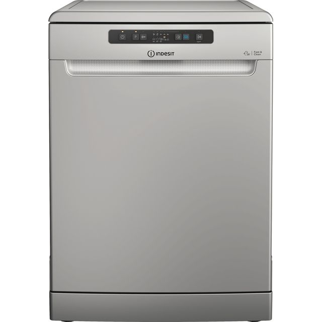 Indesit DFC2B+16SUK Standard Dishwasher - Stainless Steel - F Rated